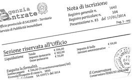 Trascrizione atti immobiliari - Trascrizione sentenza conservatoria registri immobiliari ...