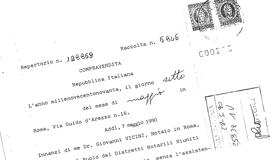 Copia atto notarile - Contratto di donazione immobile ...