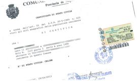Certificato di stato libero richiedilo online in pochi for Autocertificazione iva 10